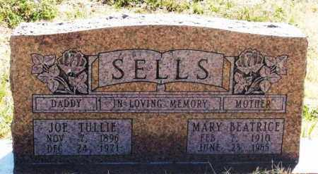 SELLS, JOE TULLIE - Greer County, Oklahoma | JOE TULLIE SELLS - Oklahoma Gravestone Photos