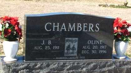 CHAMBERS, JOHN B - Harmon County, Oklahoma | JOHN B CHAMBERS - Oklahoma Gravestone Photos