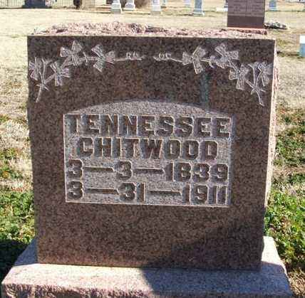 CHITWOOD, TENNESSEE - Harmon County, Oklahoma | TENNESSEE CHITWOOD - Oklahoma Gravestone Photos