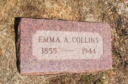 COLLINS, EMMA A - Harmon County, Oklahoma   EMMA A COLLINS - Oklahoma Gravestone Photos