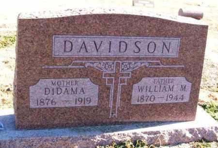DAVIDSON, DIDAMA - Harmon County, Oklahoma | DIDAMA DAVIDSON - Oklahoma Gravestone Photos