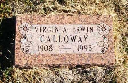 GALLOWAY, VIRGINIA - Harmon County, Oklahoma   VIRGINIA GALLOWAY - Oklahoma Gravestone Photos