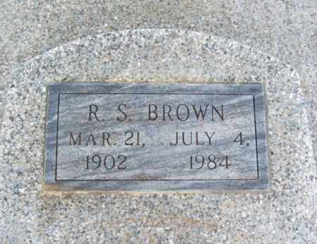 BROWN, R S - Jackson County, Oklahoma | R S BROWN - Oklahoma Gravestone Photos