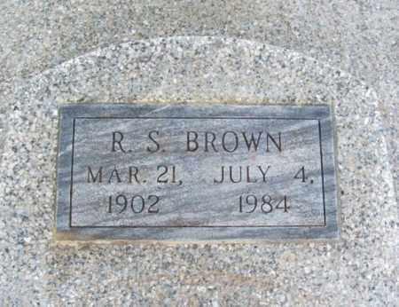 BROWN, R S - Jackson County, Oklahoma | R S BROWN - Oklahoma Gravestone Photos