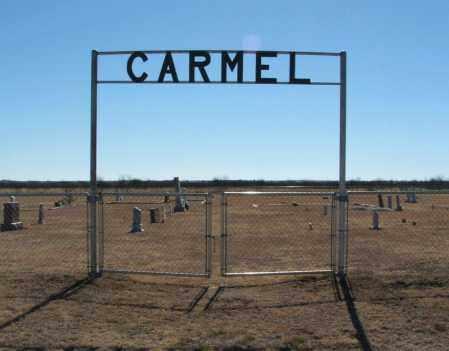 *CARMEL, *ENTRANCE - Jackson County, Oklahoma | *ENTRANCE *CARMEL - Oklahoma Gravestone Photos