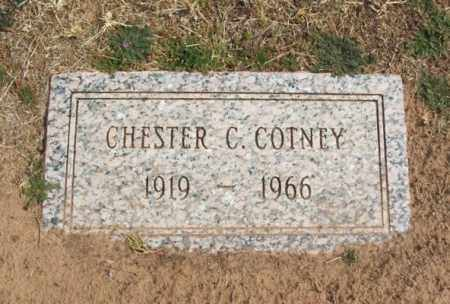COTNEY, CHESTER C - Jackson County, Oklahoma | CHESTER C COTNEY - Oklahoma Gravestone Photos