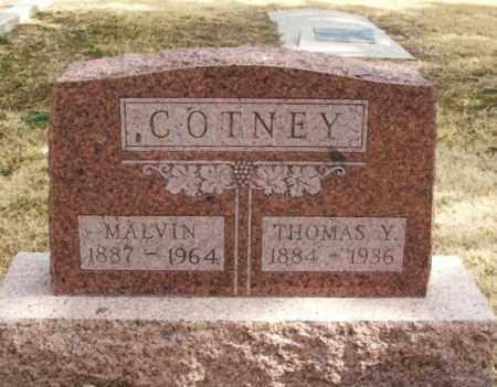 COTNEY, THOMAS YATES - Jackson County, Oklahoma | THOMAS YATES COTNEY - Oklahoma Gravestone Photos