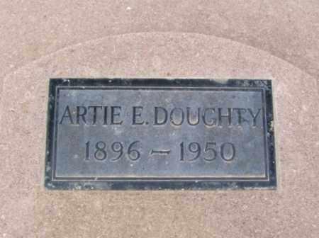 DOUGHTY, ARTIE E - Jackson County, Oklahoma | ARTIE E DOUGHTY - Oklahoma Gravestone Photos