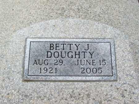 DOUGHTY, BETTY J - Jackson County, Oklahoma | BETTY J DOUGHTY - Oklahoma Gravestone Photos