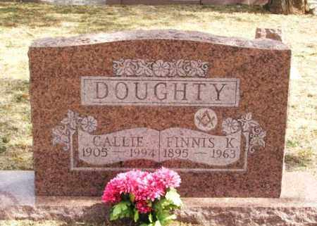 DOUGHTY, CALLIE CLAUDIA - Jackson County, Oklahoma   CALLIE CLAUDIA DOUGHTY - Oklahoma Gravestone Photos