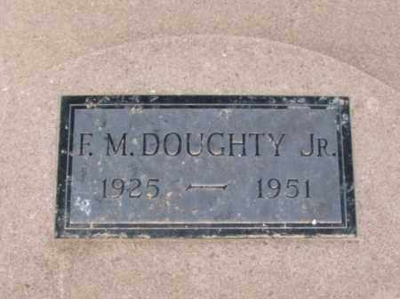 DOUGHTY, FORREST M, JR - Jackson County, Oklahoma   FORREST M, JR DOUGHTY - Oklahoma Gravestone Photos