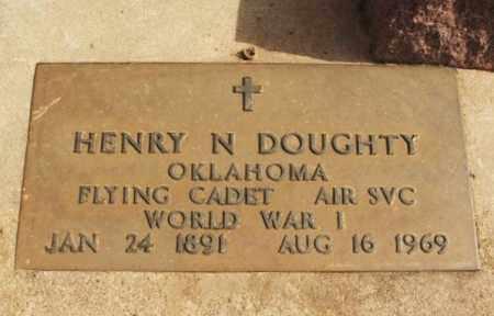 DOUGHTY (VETERAN WWI), HENRY N - Jackson County, Oklahoma | HENRY N DOUGHTY (VETERAN WWI) - Oklahoma Gravestone Photos