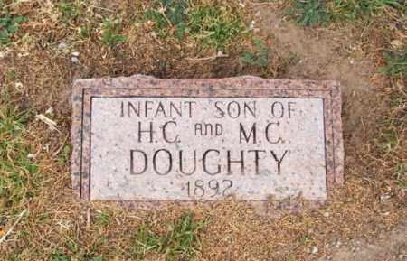 DOUGHTY, INFANT SON - Jackson County, Oklahoma   INFANT SON DOUGHTY - Oklahoma Gravestone Photos