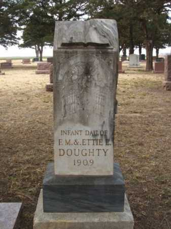 DOUGHTY, INFANT DAUGHTER - Jackson County, Oklahoma   INFANT DAUGHTER DOUGHTY - Oklahoma Gravestone Photos