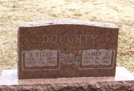 DOUGHTY, E ELLEN - Jackson County, Oklahoma | E ELLEN DOUGHTY - Oklahoma Gravestone Photos