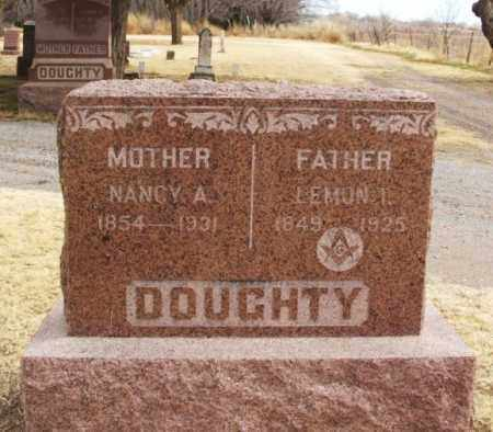 DOUGHTY, LEMON T - Jackson County, Oklahoma | LEMON T DOUGHTY - Oklahoma Gravestone Photos