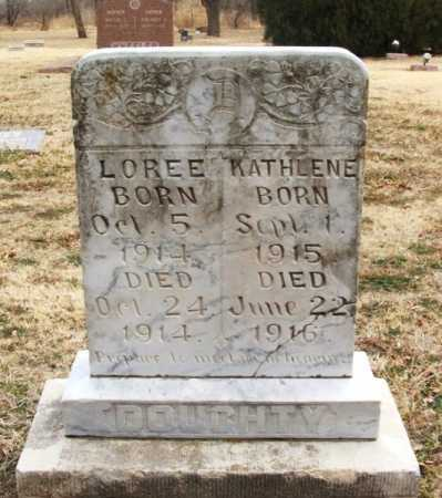 DOUGHTY, LOREE - Jackson County, Oklahoma | LOREE DOUGHTY - Oklahoma Gravestone Photos