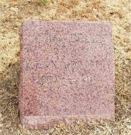 DOUGHTY, MARY BELLE - Jackson County, Oklahoma | MARY BELLE DOUGHTY - Oklahoma Gravestone Photos