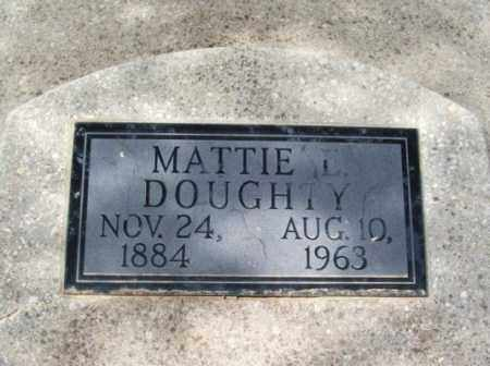 DOUGHTY, MATTIE L - Jackson County, Oklahoma   MATTIE L DOUGHTY - Oklahoma Gravestone Photos