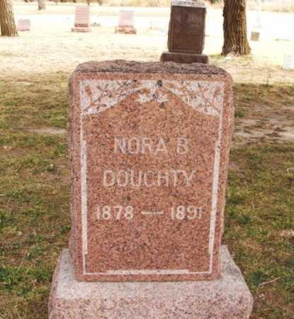 DOUGHTY, NORA B - Jackson County, Oklahoma   NORA B DOUGHTY - Oklahoma Gravestone Photos