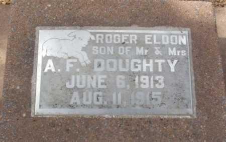 DOUGHTY, ROGER ELDON - Jackson County, Oklahoma | ROGER ELDON DOUGHTY - Oklahoma Gravestone Photos