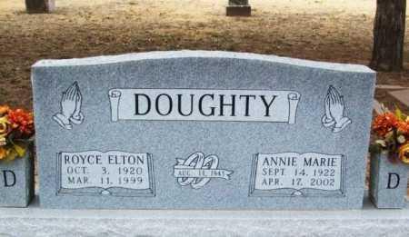 DOUGHTY, ROYCE ELTON - Jackson County, Oklahoma | ROYCE ELTON DOUGHTY - Oklahoma Gravestone Photos