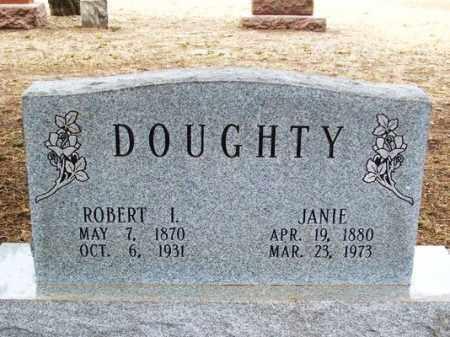 DOUGHTY, ROBERT I - Jackson County, Oklahoma | ROBERT I DOUGHTY - Oklahoma Gravestone Photos