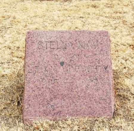 DOUGHTY, STELLA MAY - Jackson County, Oklahoma   STELLA MAY DOUGHTY - Oklahoma Gravestone Photos
