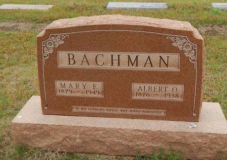BACHMAN, MARY E - Kay County, Oklahoma | MARY E BACHMAN - Oklahoma Gravestone Photos