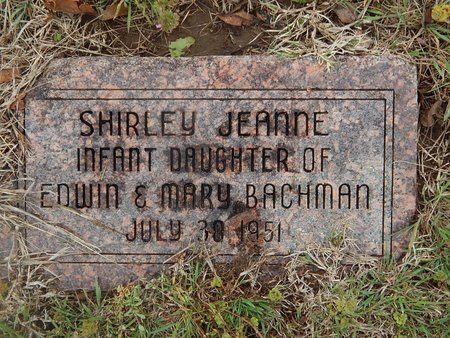BACHMAN, SHIRLEY JEANNE - Kay County, Oklahoma   SHIRLEY JEANNE BACHMAN - Oklahoma Gravestone Photos