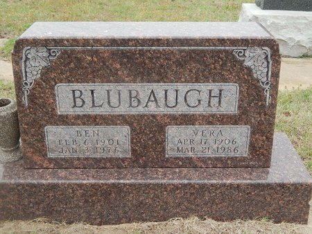 BLUBAUGH, BEN - Kay County, Oklahoma | BEN BLUBAUGH - Oklahoma Gravestone Photos