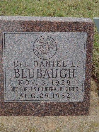 BLUBAUGH, DANIEL L - Kay County, Oklahoma   DANIEL L BLUBAUGH - Oklahoma Gravestone Photos