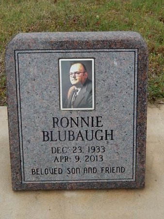 BLUBAUGH, RONNIE - Kay County, Oklahoma | RONNIE BLUBAUGH - Oklahoma Gravestone Photos