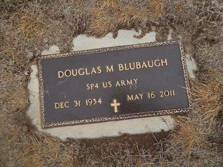 BLUBAUGH (VETERAN), DOUGLAS M - Kay County, Oklahoma   DOUGLAS M BLUBAUGH (VETERAN) - Oklahoma Gravestone Photos