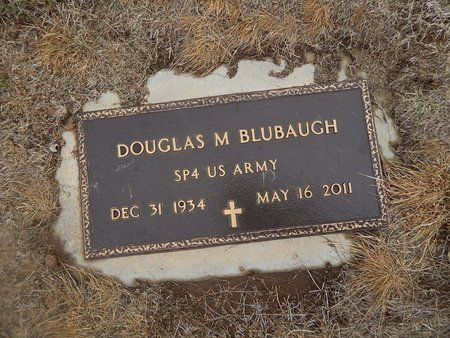 BLUBAUGH (VETERAN), DOUGLAS M - Kay County, Oklahoma | DOUGLAS M BLUBAUGH (VETERAN) - Oklahoma Gravestone Photos