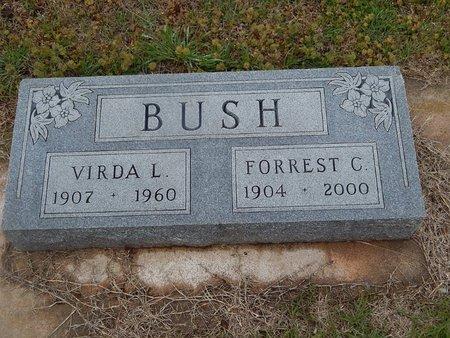 BUSH, FORREST C - Kay County, Oklahoma | FORREST C BUSH - Oklahoma Gravestone Photos