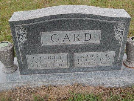 GARD, BERNICE F - Kay County, Oklahoma | BERNICE F GARD - Oklahoma Gravestone Photos
