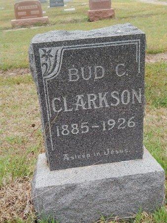CLARKSON, BUD C - Kay County, Oklahoma | BUD C CLARKSON - Oklahoma Gravestone Photos