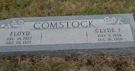 COMSTOCK, CLYDE F - Kay County, Oklahoma | CLYDE F COMSTOCK - Oklahoma Gravestone Photos