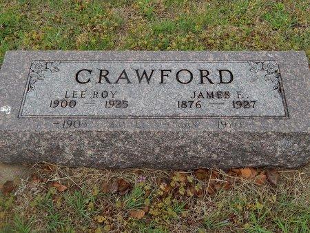 CRAWFORD, JAMES E - Kay County, Oklahoma | JAMES E CRAWFORD - Oklahoma Gravestone Photos