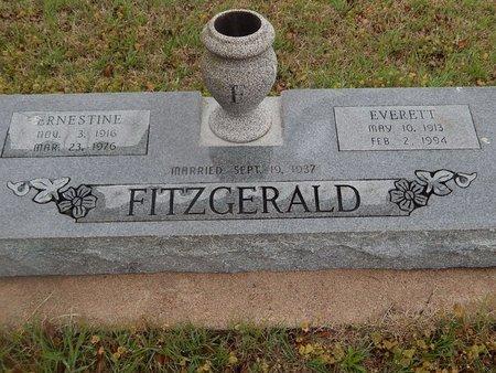 FITZGERALD, ERNESTINE - Kay County, Oklahoma | ERNESTINE FITZGERALD - Oklahoma Gravestone Photos