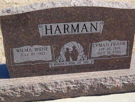 HARMAN, LYMAN FRANK - Kay County, Oklahoma | LYMAN FRANK HARMAN - Oklahoma Gravestone Photos