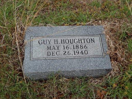 HOUGHTON, GUY H - Kay County, Oklahoma | GUY H HOUGHTON - Oklahoma Gravestone Photos