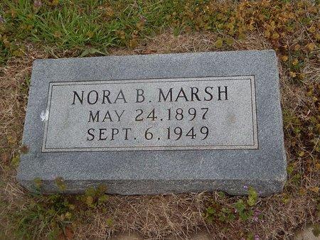 MARSH, NORA B - Kay County, Oklahoma | NORA B MARSH - Oklahoma Gravestone Photos