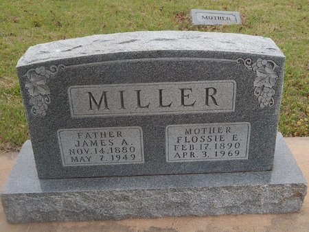 MILLER, JAMES A - Kay County, Oklahoma | JAMES A MILLER - Oklahoma Gravestone Photos