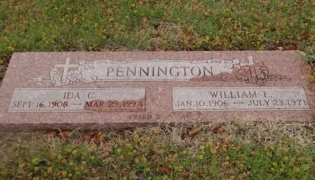 PENNINGTON, IDA C - Kay County, Oklahoma   IDA C PENNINGTON - Oklahoma Gravestone Photos
