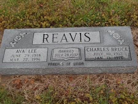 REAVIS, CHARLES BRUCE - Kay County, Oklahoma | CHARLES BRUCE REAVIS - Oklahoma Gravestone Photos