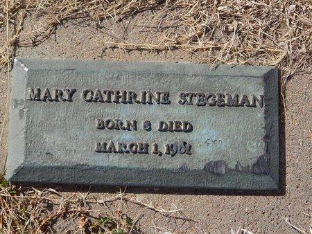 STEGEMAN, MARY CATHRINE - Kay County, Oklahoma | MARY CATHRINE STEGEMAN - Oklahoma Gravestone Photos