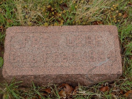 UEBE, FRED - Kay County, Oklahoma   FRED UEBE - Oklahoma Gravestone Photos