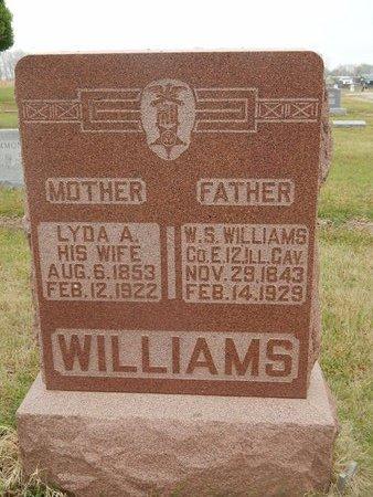 WILLIAMS, LYDA A - Kay County, Oklahoma   LYDA A WILLIAMS - Oklahoma Gravestone Photos